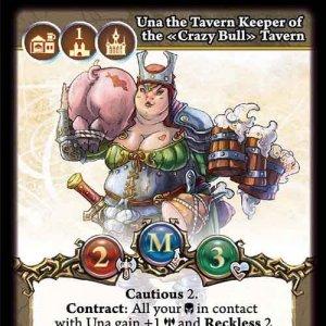 """Una, the """"Crazy Bull"""" Tavern Keeper"""