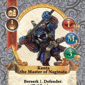 Kenta the Master of Naginata