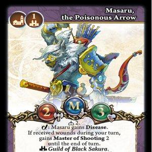 Masaru, the Poisonous Arrow