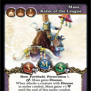 Masa, Rider of the League