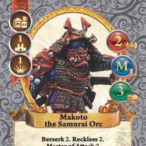 Makoto the Samurai Orc