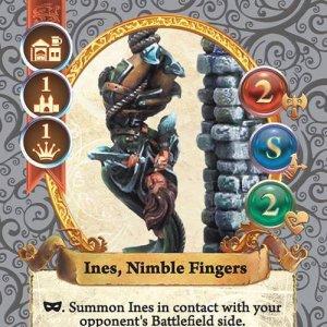 Ines, Nimble Fingers