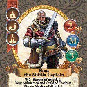 Boas the Militia Captain