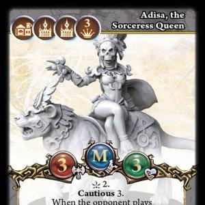 Adisa, the Sorceress Queen