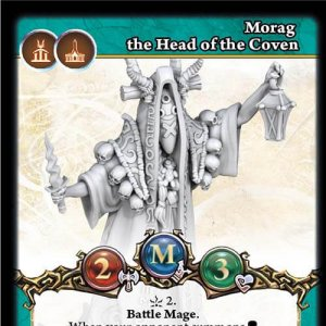 Morag the Head of the Coven