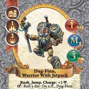 Dug-Finn, Warrior With Jetpack