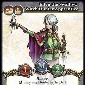 Ellen the Swallow, Witch Hunter Apprentice