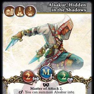 Alsakur, Hidden in the Shadows