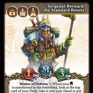 Sergeant Bernard the Standard Bearer