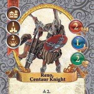 Rexo, Centaur Knight