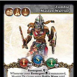 Zombie Maiden Warrior