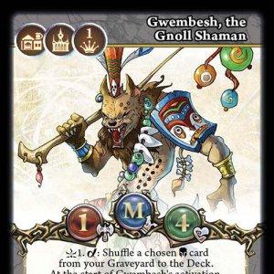 Gwembesh, the Gnoll Shaman