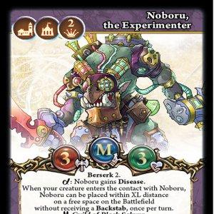 Noboru, the Experimenter