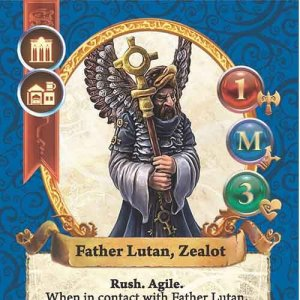 Father Lutan, Zealot