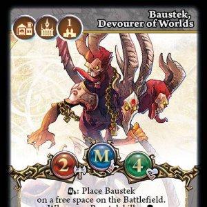 Baustek, Devourer of Worlds