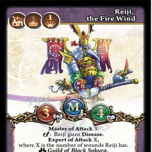 Reiji, the Fire Wind