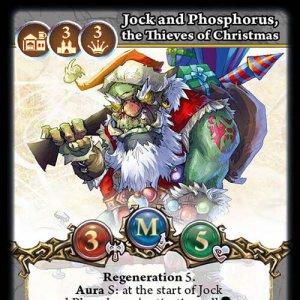 Jock and Phosphorus, the Thieves of Christmas