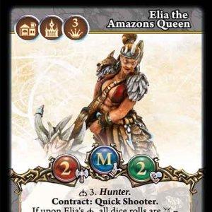Elia the Amazons Queen
